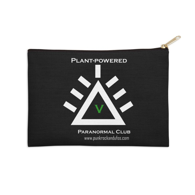 Plant-Powered Paranormal Club Accessories Zip Pouch by punkrockandufos's Artist Shop
