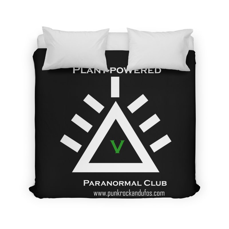 Plant-Powered Paranormal Club Home Duvet by punkrockandufos's Artist Shop