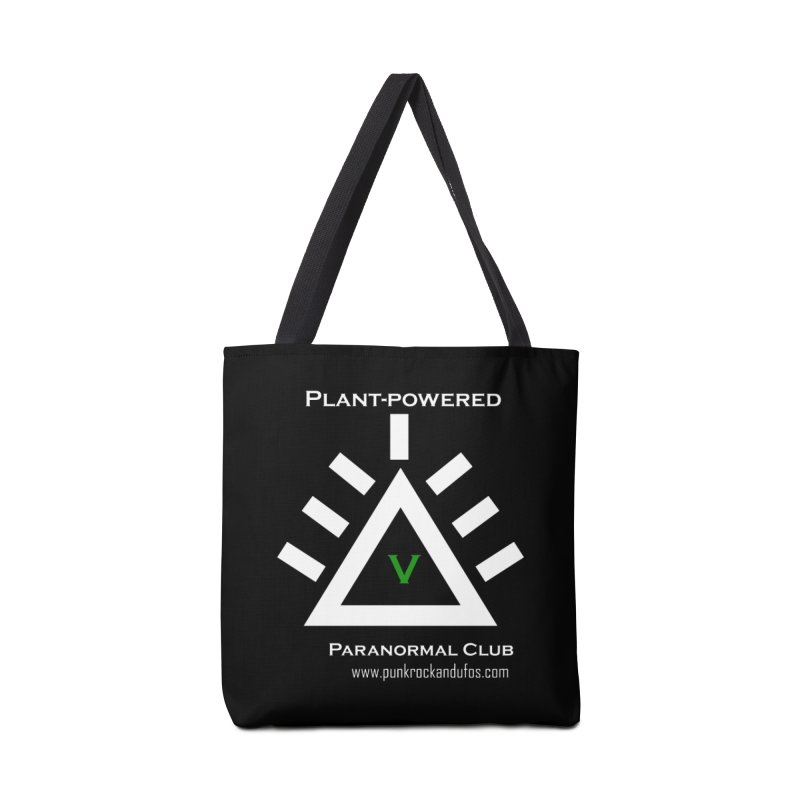 Plant-Powered Paranormal Club Accessories Bag by punkrockandufos's Artist Shop