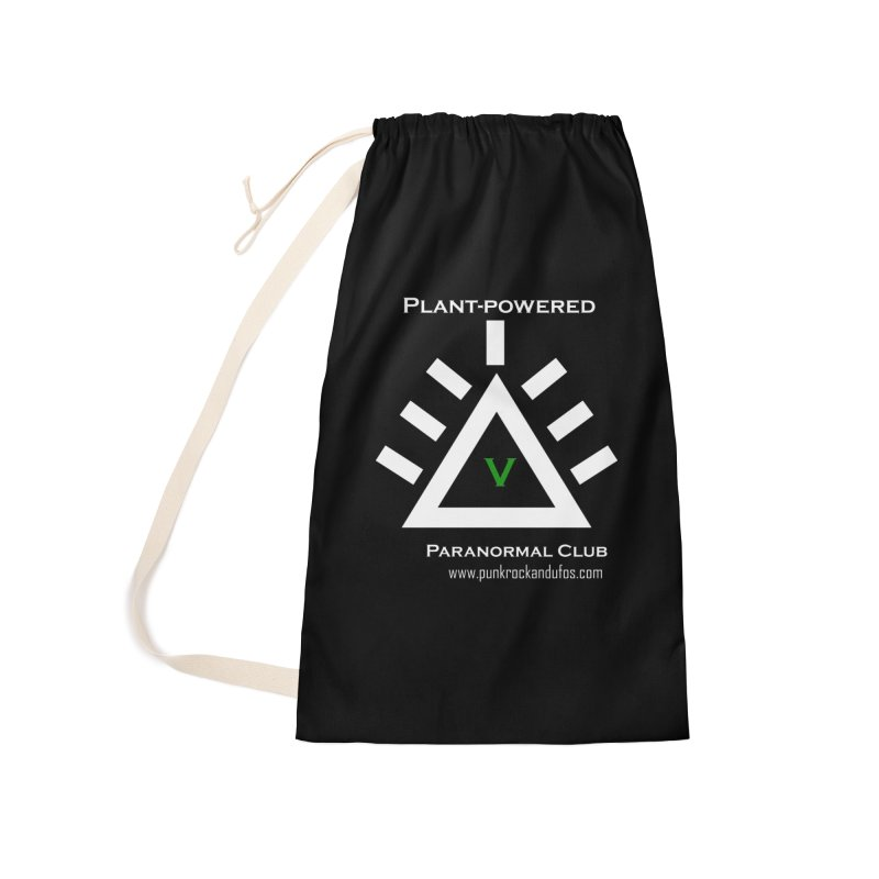 Plant-Powered Paranormal Club Accessories Laundry Bag Bag by punkrockandufos's Artist Shop