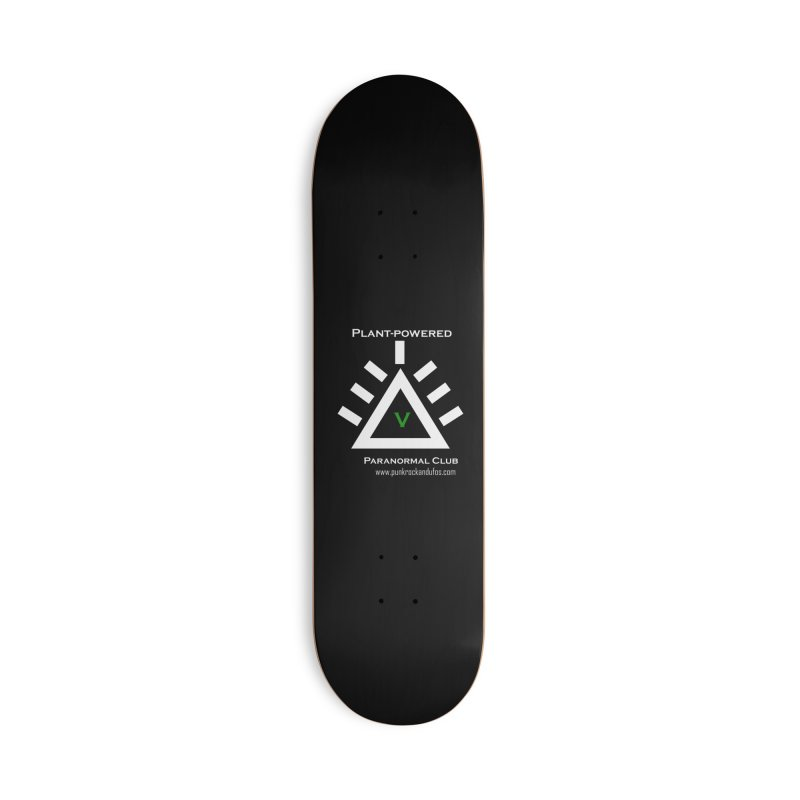Plant-Powered Paranormal Club Accessories Deck Only Skateboard by punkrockandufos's Artist Shop