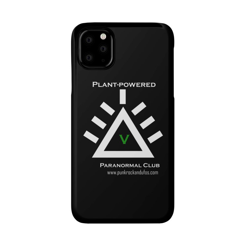 Plant-Powered Paranormal Club Accessories Phone Case by punkrockandufos's Artist Shop