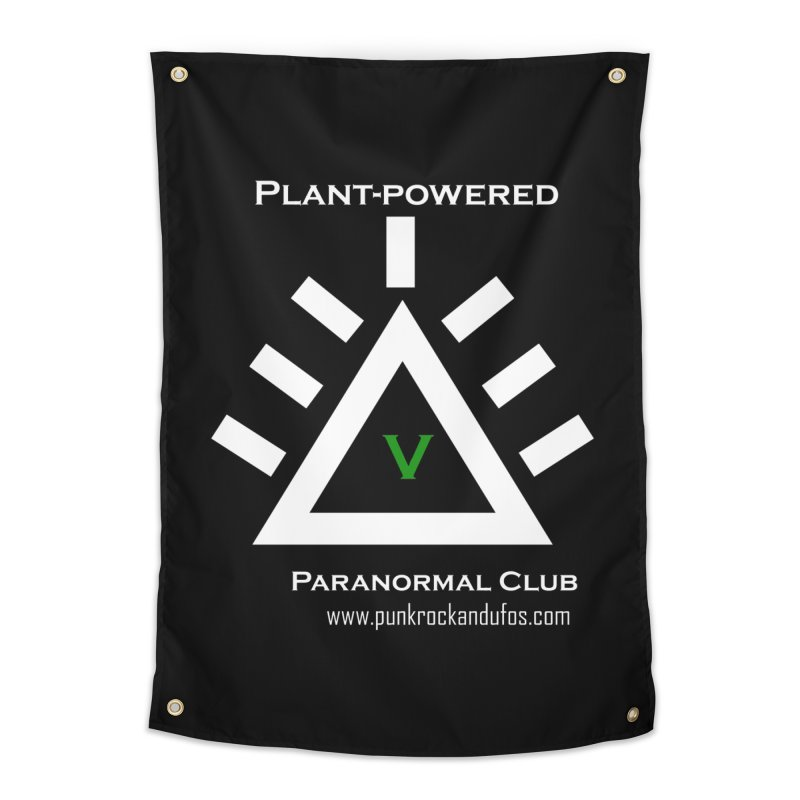 Plant-Powered Paranormal Club Home Tapestry by punkrockandufos's Artist Shop