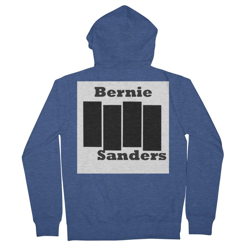 Bern Flag Women's French Terry Zip-Up Hoody by punkrockandufos's Artist Shop