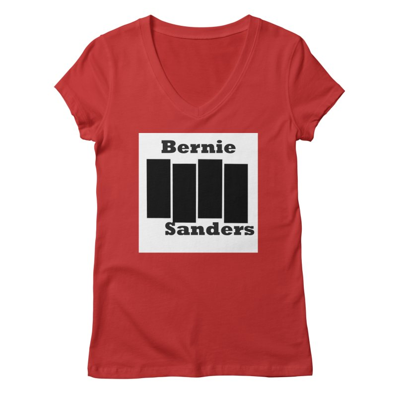 Bern Flag Women's Regular V-Neck by punkrockandufos's Artist Shop