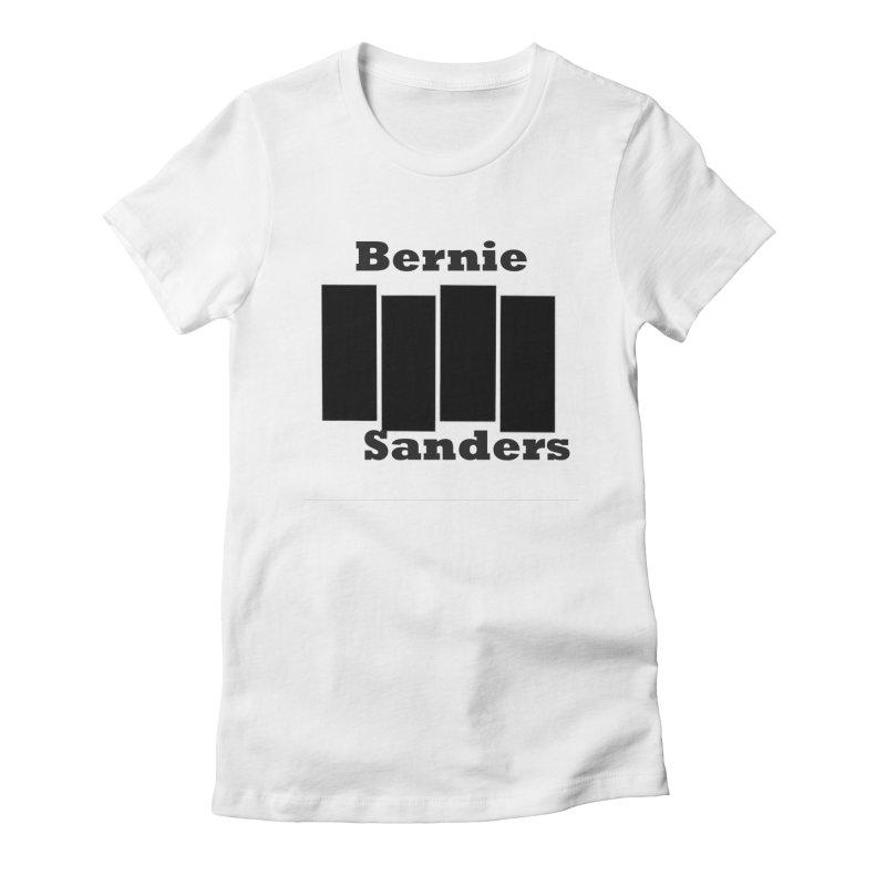 Bern Flag Women's Fitted T-Shirt by punkrockandufos's Artist Shop