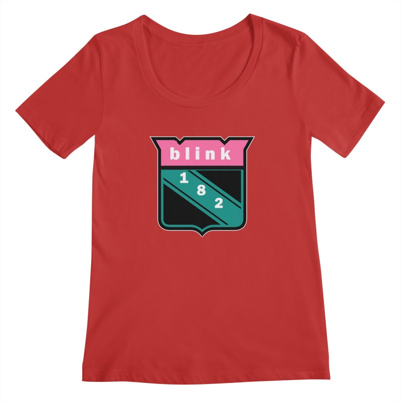blinknyr Women's Regular Scoop Neck by punkrockandufos's Artist Shop