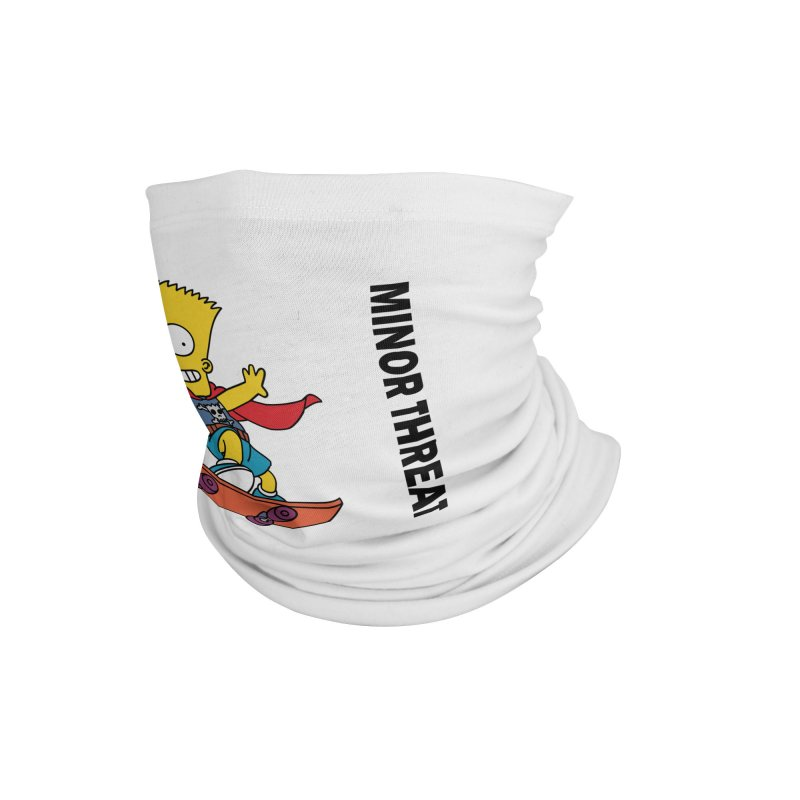 MinorThreatBart Accessories Neck Gaiter by punkrockandufos's Artist Shop