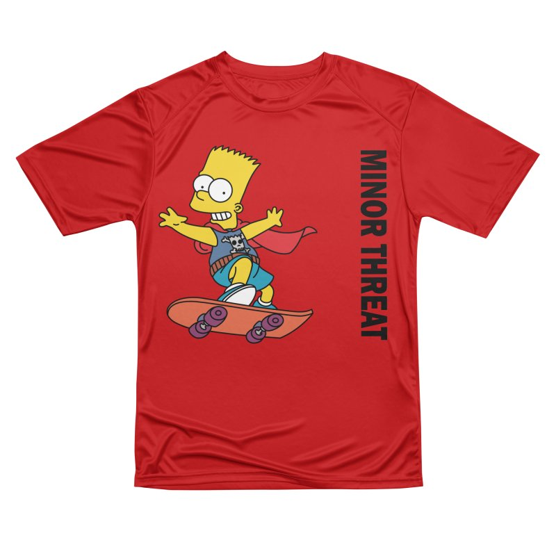 MinorThreatBart Men's Performance T-Shirt by punkrockandufos's Artist Shop