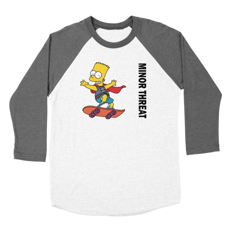 MinorThreatBart Women's Longsleeve T-Shirt by punkrockandufos's Artist Shop