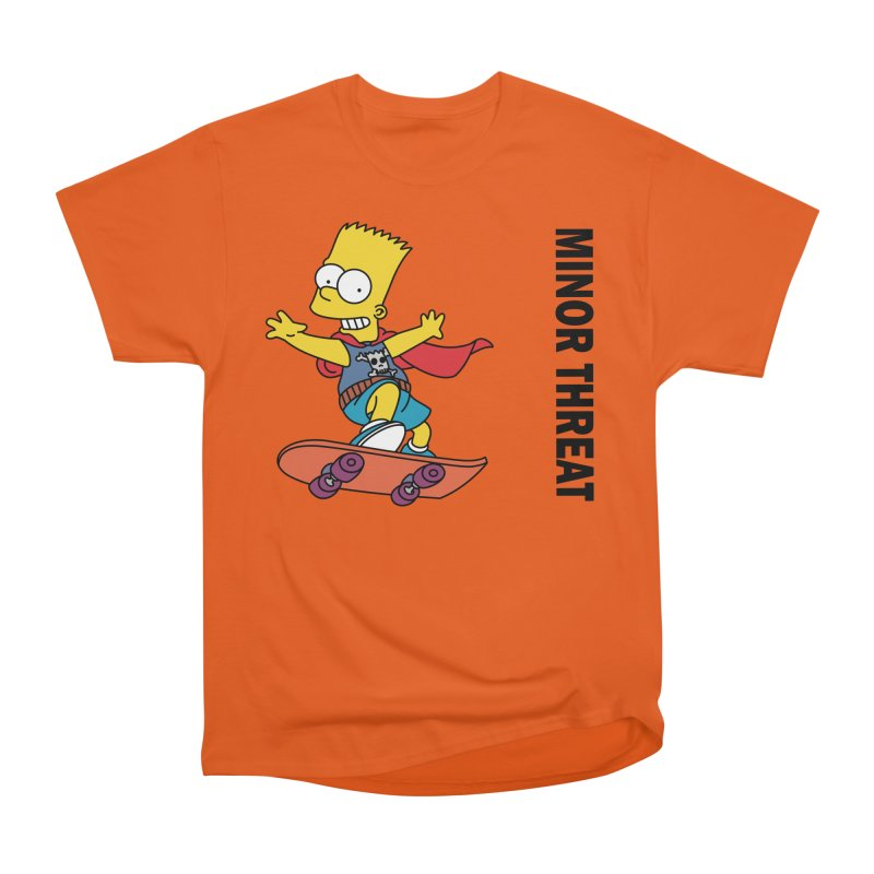 MinorThreatBart Men's Heavyweight T-Shirt by punkrockandufos's Artist Shop