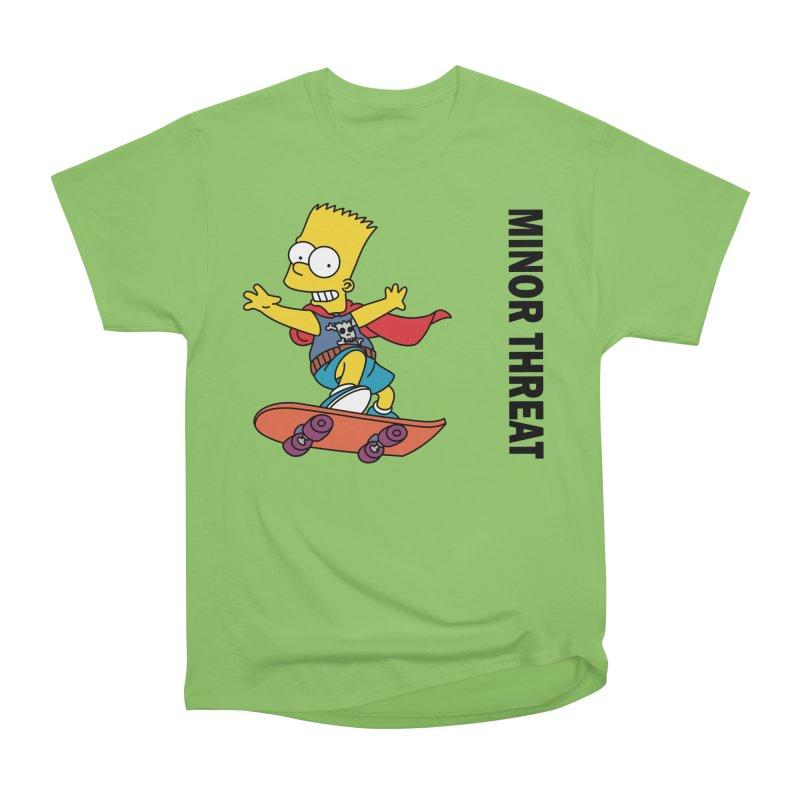 MinorThreatBart Women's Heavyweight Unisex T-Shirt by punkrockandufos's Artist Shop
