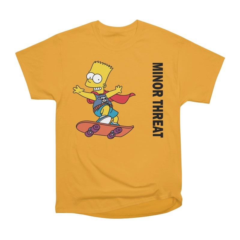 MinorThreatBart Men's Heavyweight T-Shirt by punkrockandufos's Artist Shop