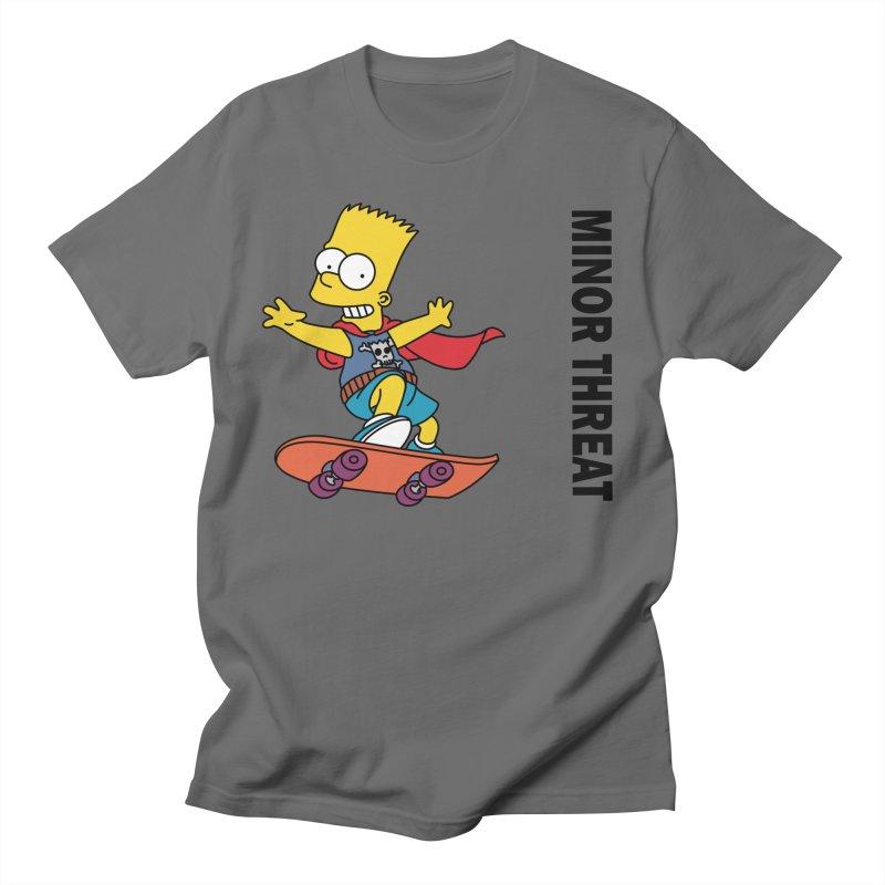 MinorThreatBart Men's T-Shirt by punkrockandufos's Artist Shop