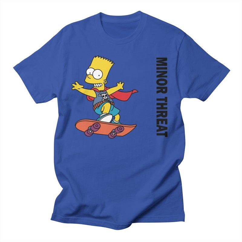 MinorThreatBart Women's Regular Unisex T-Shirt by punkrockandufos's Artist Shop