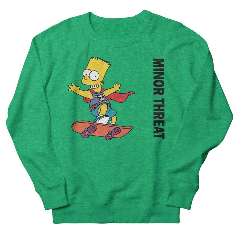 MinorThreatBart Women's Sweatshirt by punkrockandufos's Artist Shop