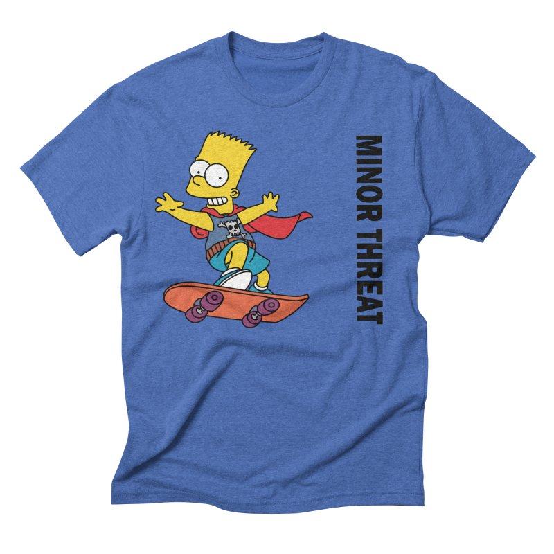 MinorThreatBart Men's Triblend T-Shirt by punkrockandufos's Artist Shop