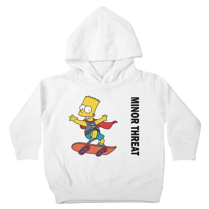 MinorThreatBart Kids Toddler Pullover Hoody by punkrockandufos's Artist Shop