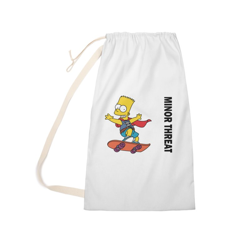MinorThreatBart Accessories Laundry Bag Bag by punkrockandufos's Artist Shop