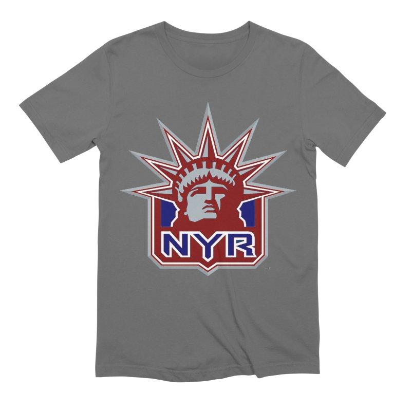 NYRetro Men's T-Shirt by punkrockandufos's Artist Shop