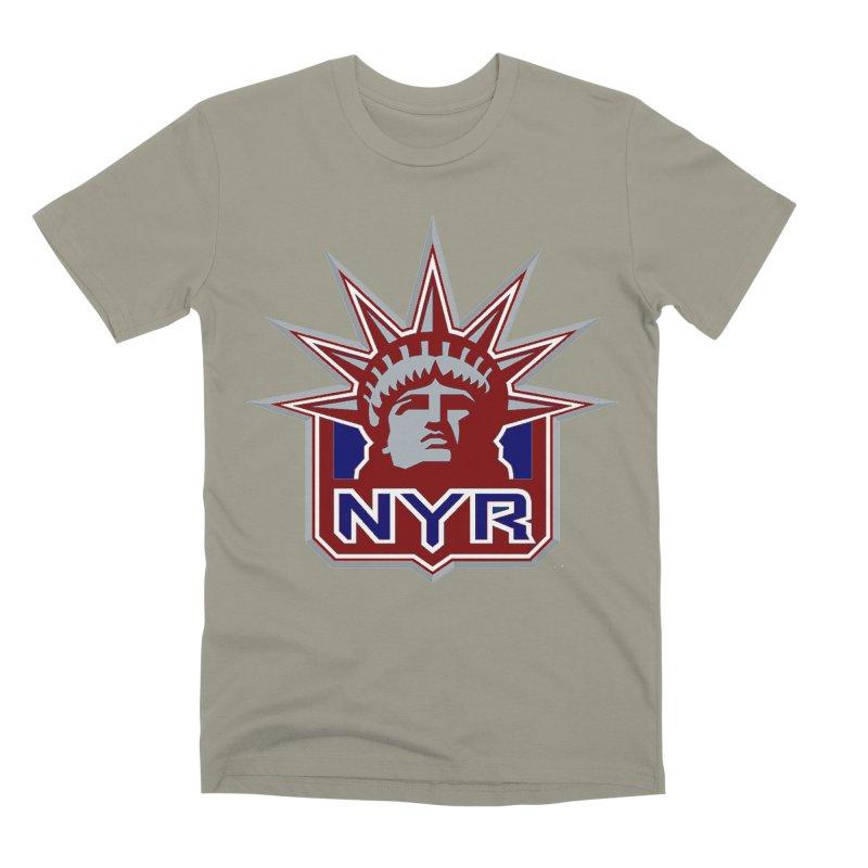 NYRetro Men's Premium T-Shirt by punkrockandufos's Artist Shop