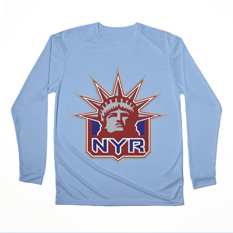 NYRetro Men's Performance Longsleeve T-Shirt by punkrockandufos's Artist Shop