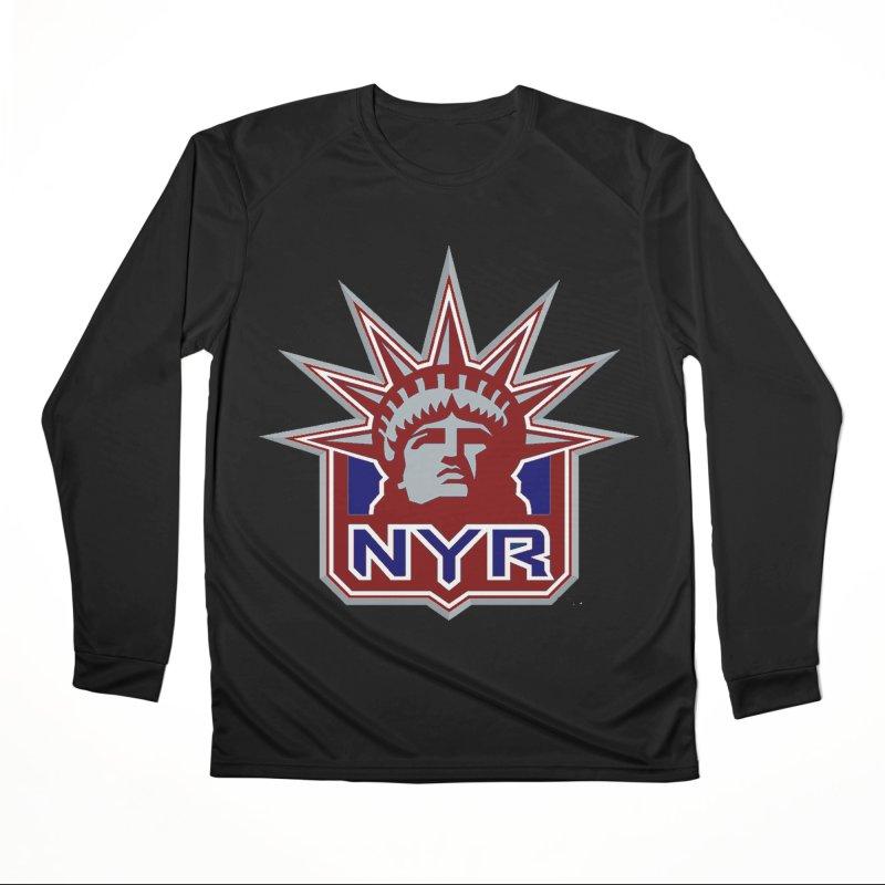 NYRetro Women's Performance Unisex Longsleeve T-Shirt by punkrockandufos's Artist Shop