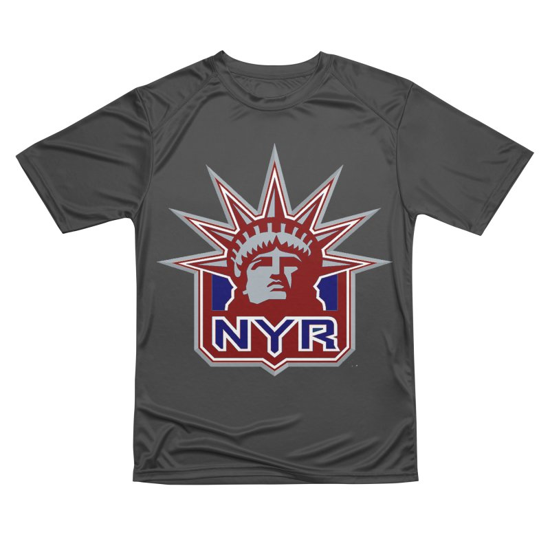NYRetro Men's Performance T-Shirt by punkrockandufos's Artist Shop