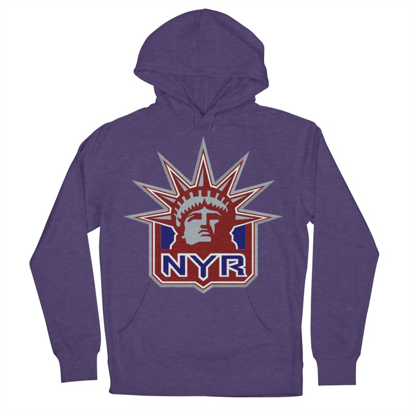 NYRetro Women's French Terry Pullover Hoody by punkrockandufos's Artist Shop