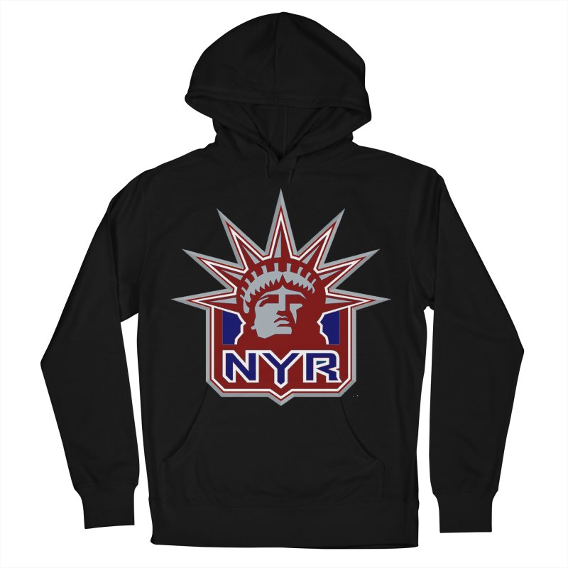 NYRetro Men's French Terry Pullover Hoody by punkrockandufos's Artist Shop