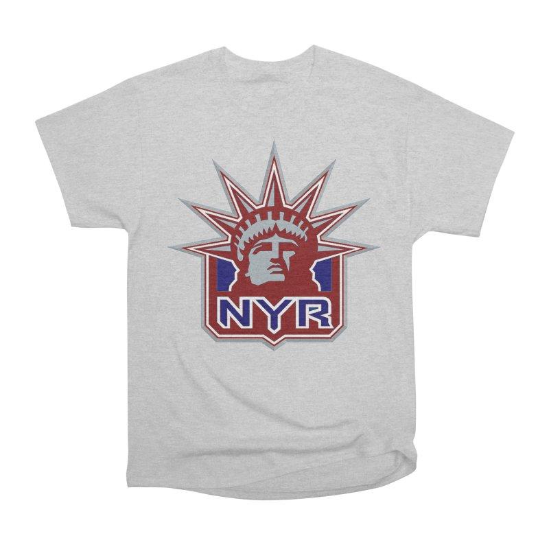 NYRetro Men's Heavyweight T-Shirt by punkrockandufos's Artist Shop