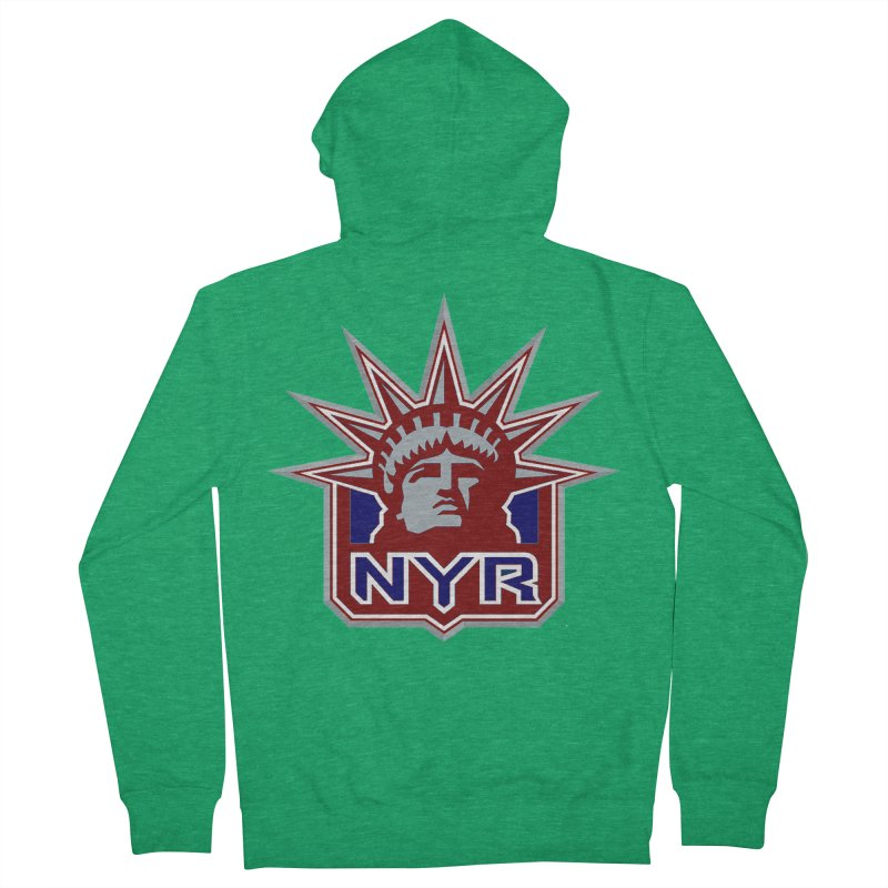 NYRetro Women's Zip-Up Hoody by punkrockandufos's Artist Shop