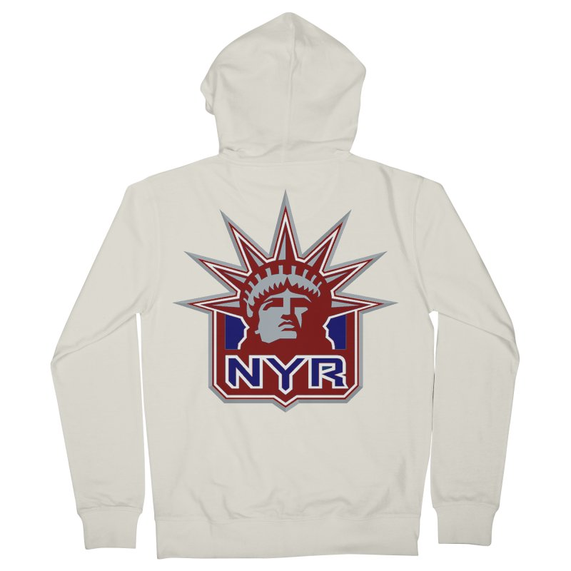 NYRetro Women's French Terry Zip-Up Hoody by punkrockandufos's Artist Shop