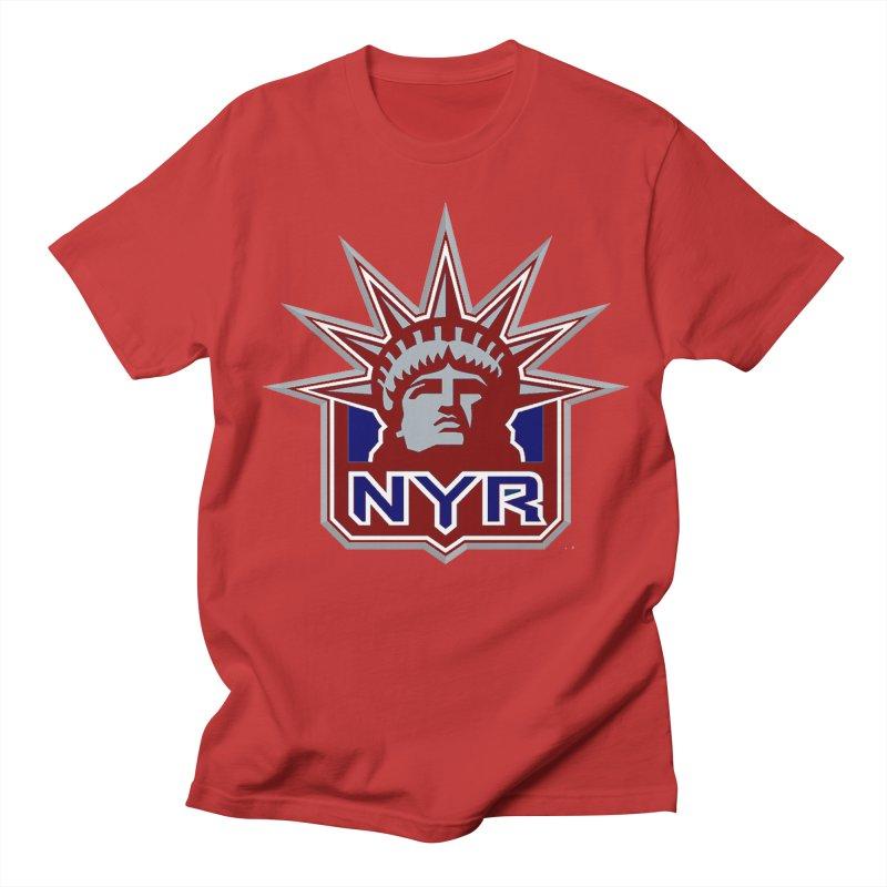 NYRetro Women's Regular Unisex T-Shirt by punkrockandufos's Artist Shop