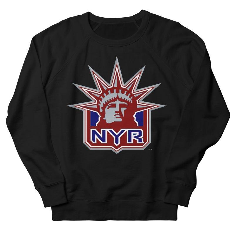 NYRetro Women's French Terry Sweatshirt by punkrockandufos's Artist Shop