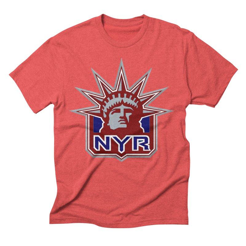 NYRetro Men's Triblend T-Shirt by punkrockandufos's Artist Shop