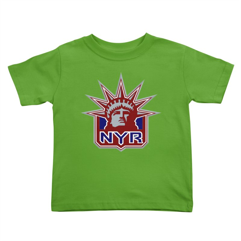 NYRetro Kids Toddler T-Shirt by punkrockandufos's Artist Shop