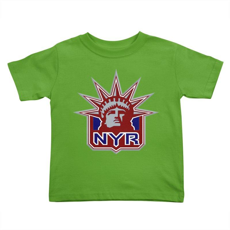 NYRetro Kids Toddler T-Shirt by punkrockandufos's Artist Shop