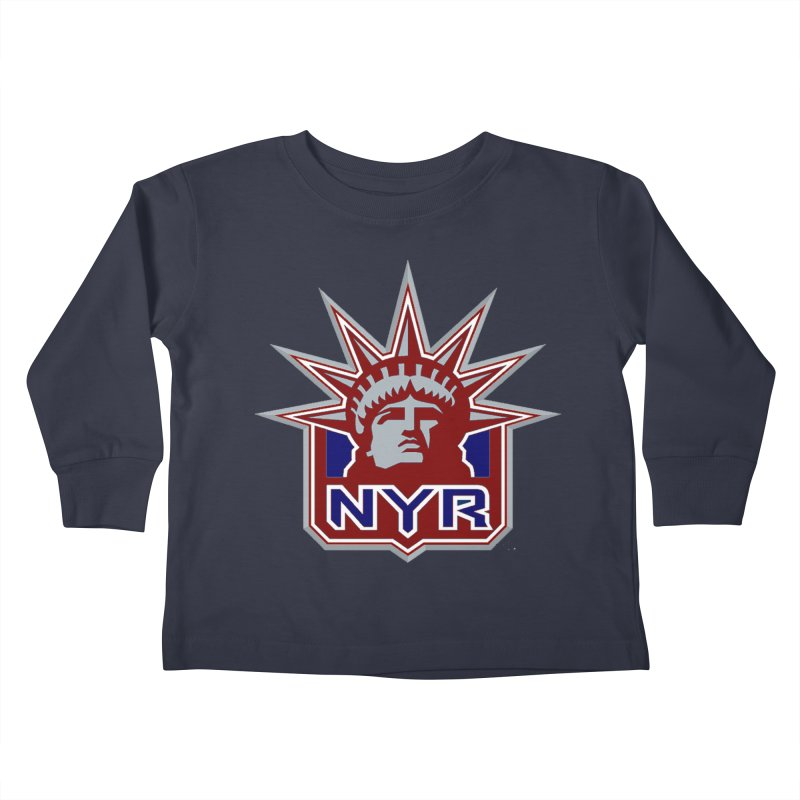 NYRetro Kids Toddler Longsleeve T-Shirt by punkrockandufos's Artist Shop