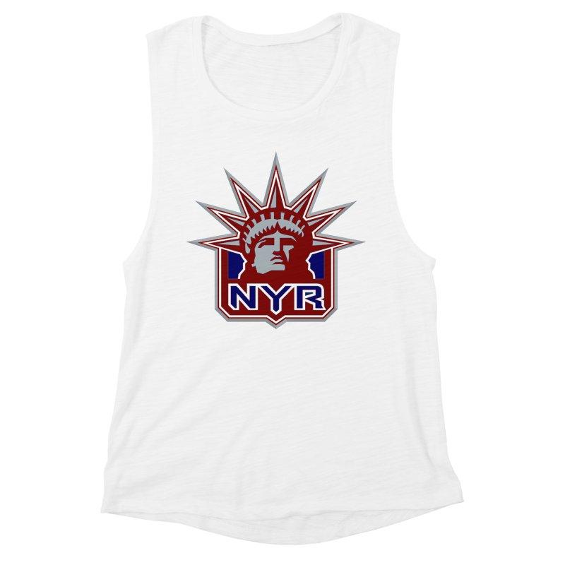 NYRetro Women's Muscle Tank by punkrockandufos's Artist Shop