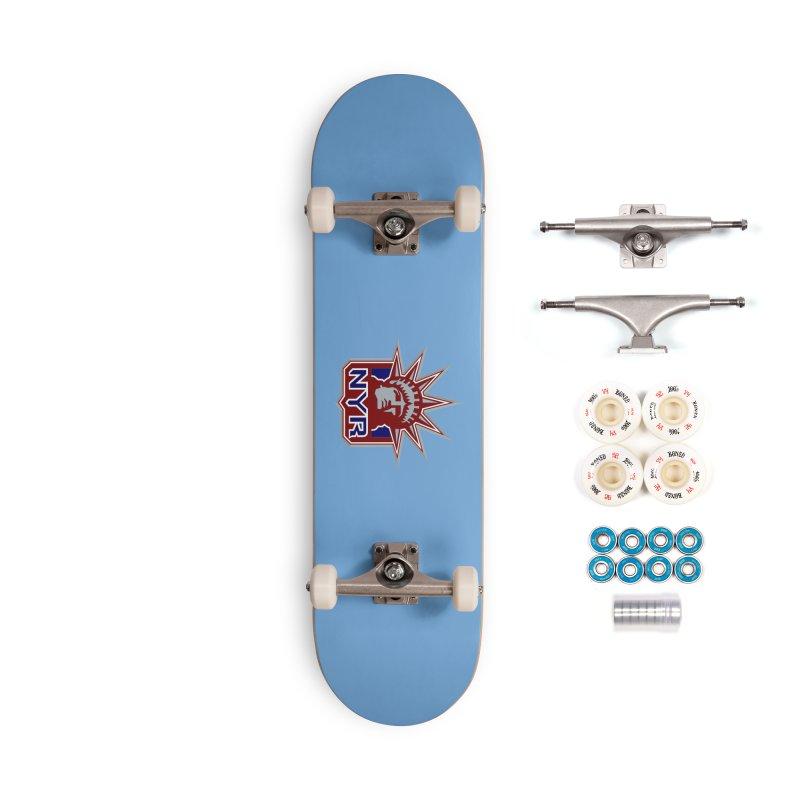 NYRetro Accessories Complete - Premium Skateboard by punkrockandufos's Artist Shop