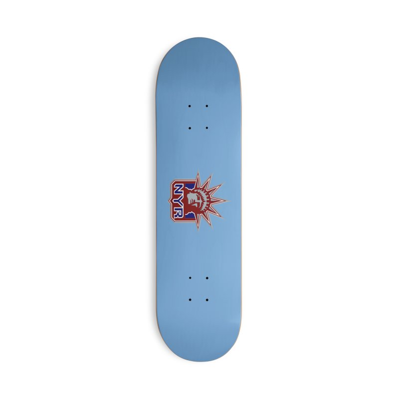 NYRetro Accessories Deck Only Skateboard by punkrockandufos's Artist Shop