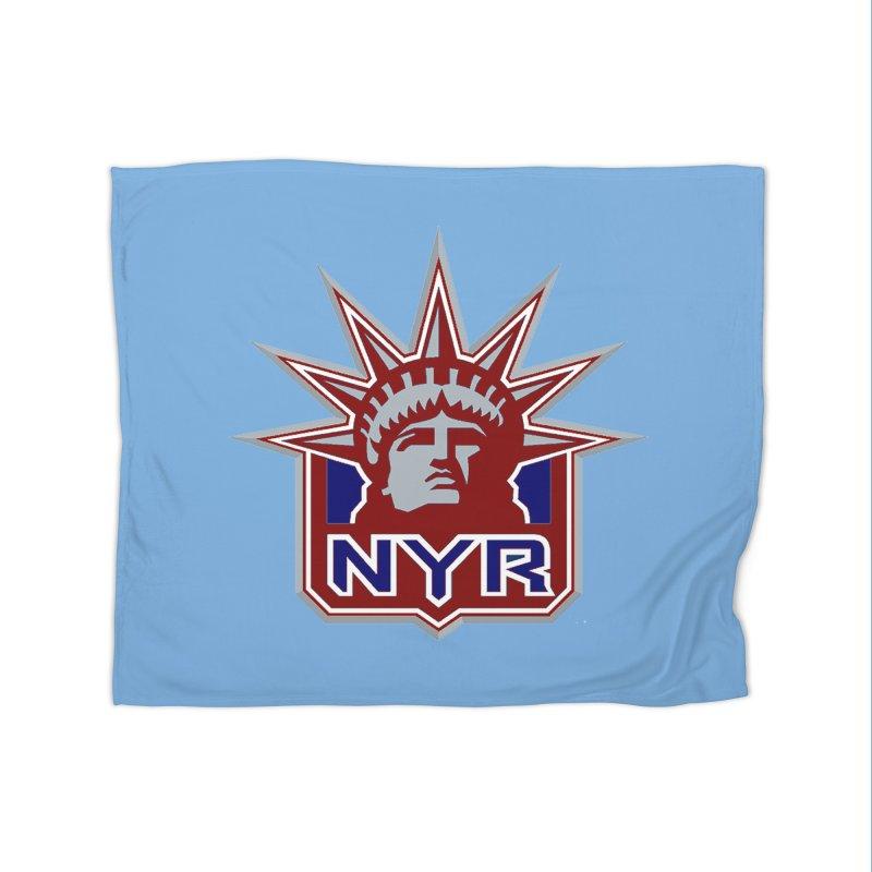 NYRetro Home Fleece Blanket Blanket by punkrockandufos's Artist Shop
