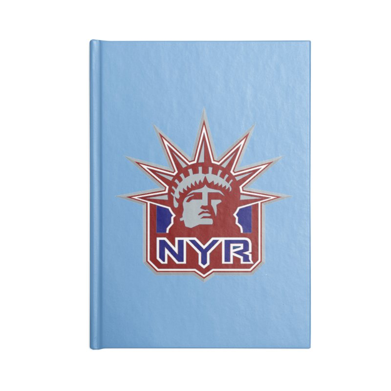 NYRetro Accessories Lined Journal Notebook by punkrockandufos's Artist Shop