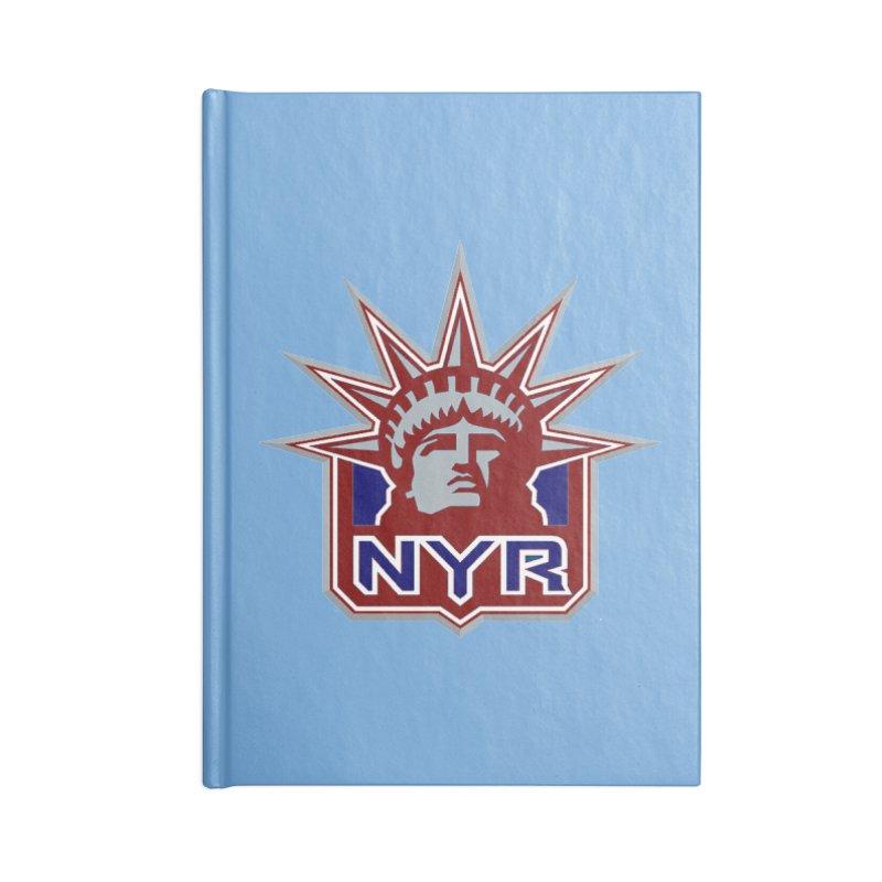 NYRetro Accessories Blank Journal Notebook by punkrockandufos's Artist Shop