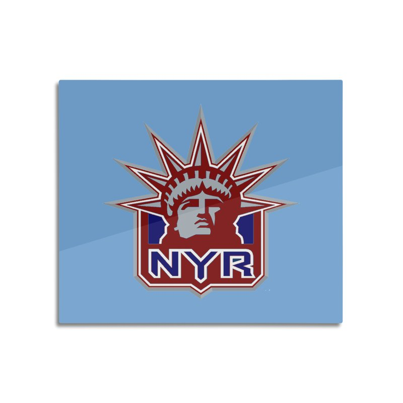 NYRetro Home Mounted Acrylic Print by punkrockandufos's Artist Shop