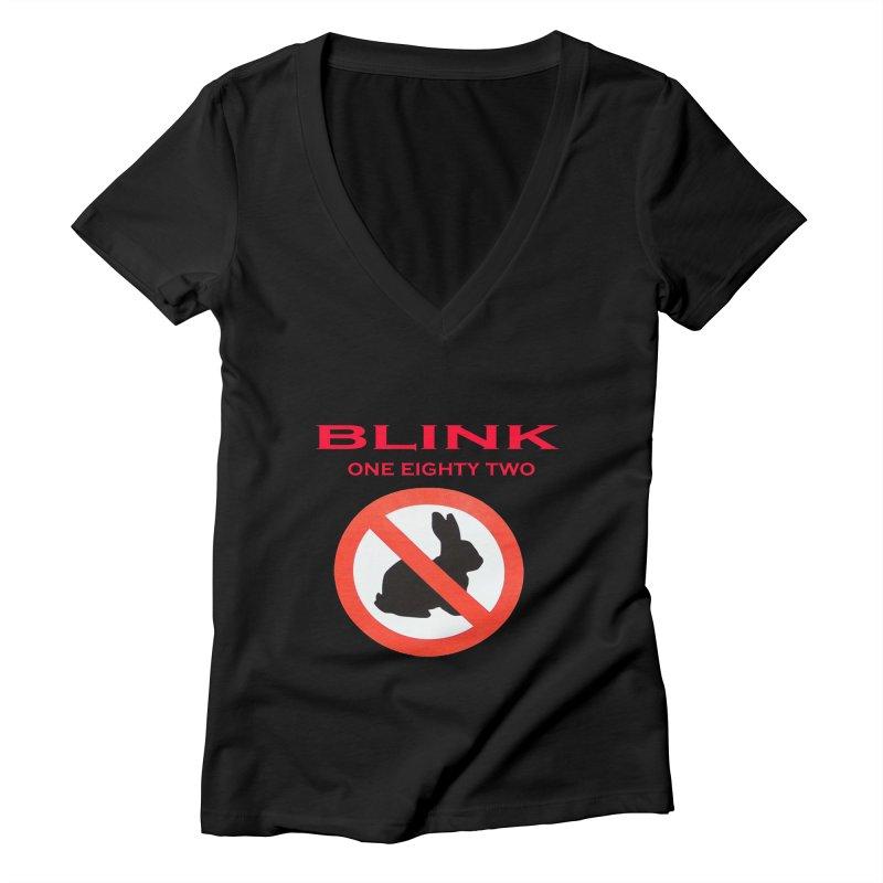 No bunny Women's Deep V-Neck V-Neck by punkrockandufos's Artist Shop