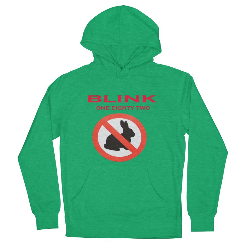 No bunny Men's French Terry Pullover Hoody by punkrockandufos's Artist Shop