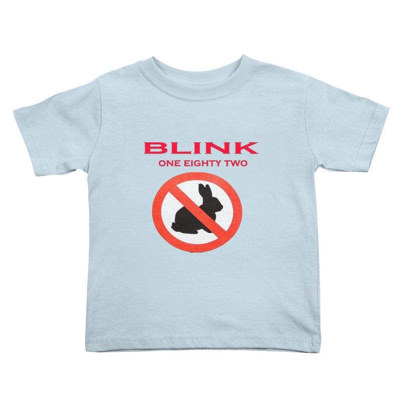 No bunny Kids Toddler T-Shirt by punkrockandufos's Artist Shop