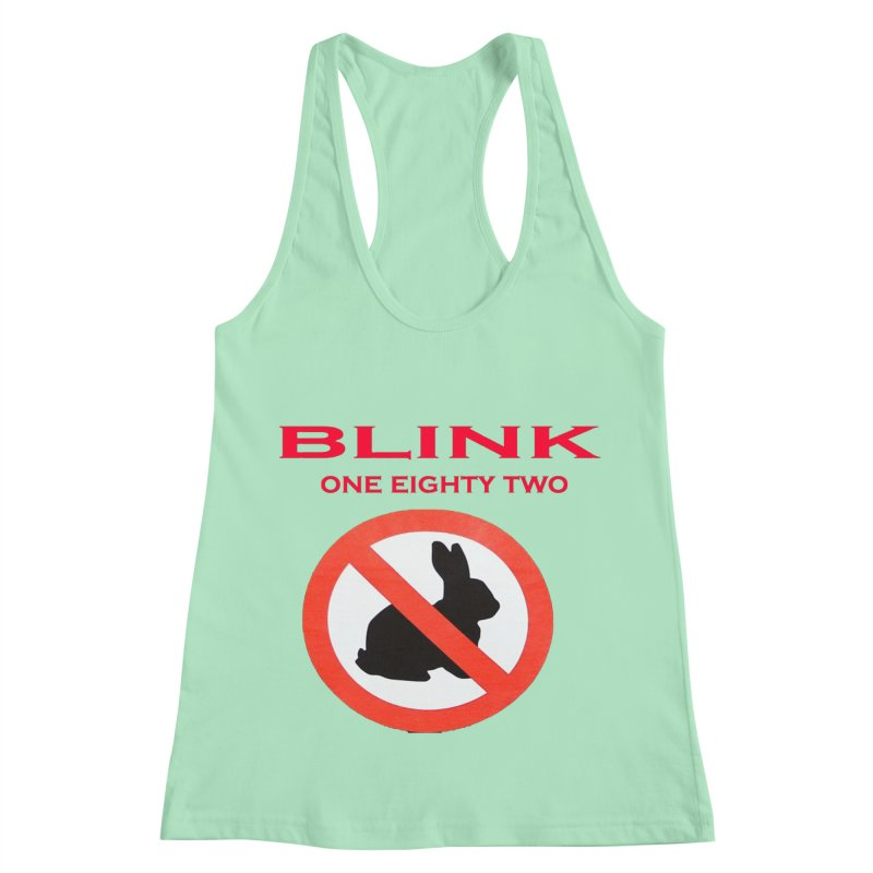 No bunny Women's Racerback Tank by punkrockandufos's Artist Shop